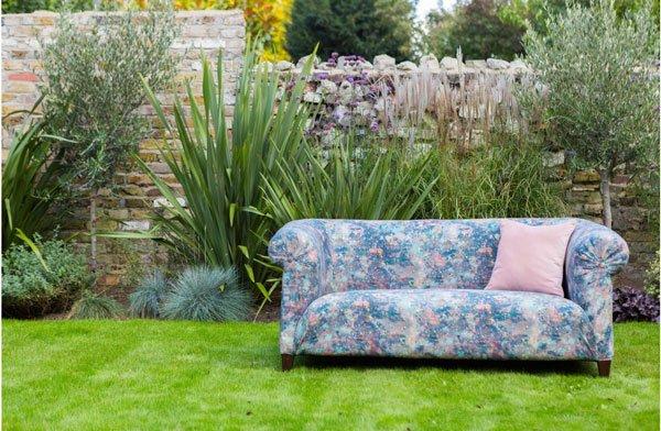 Restored Chesterfield sofa