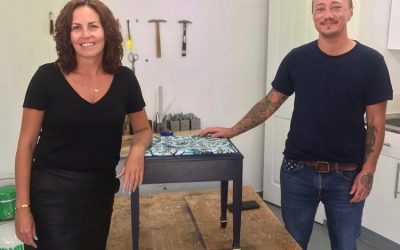 Upcycle a vintage piano stool in six steps