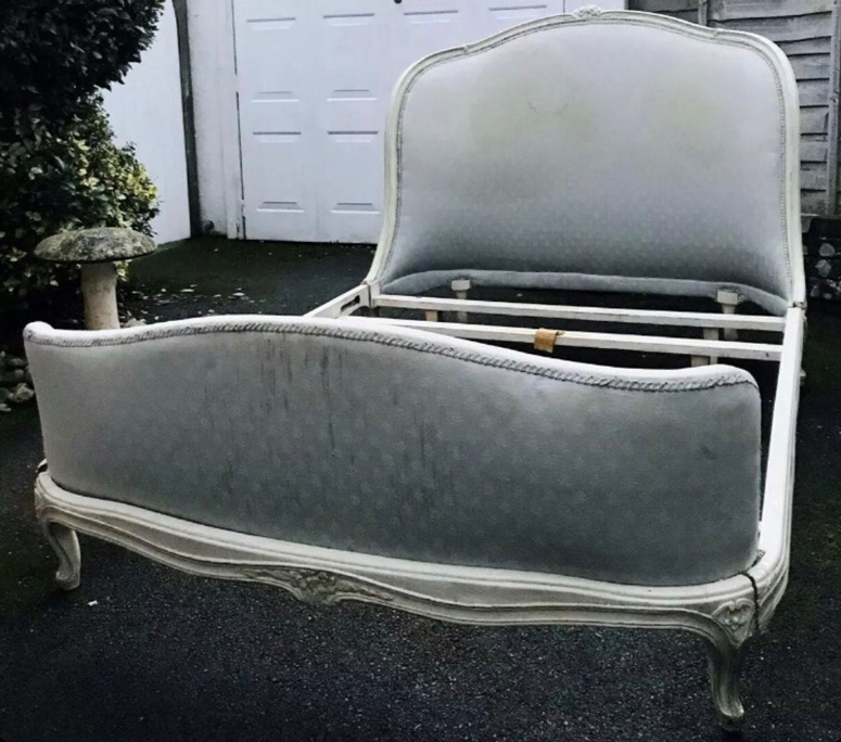 Old 1920's bed in need of reupholstering