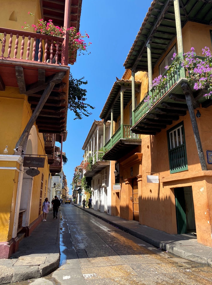 Colombia Cartagena Old Town