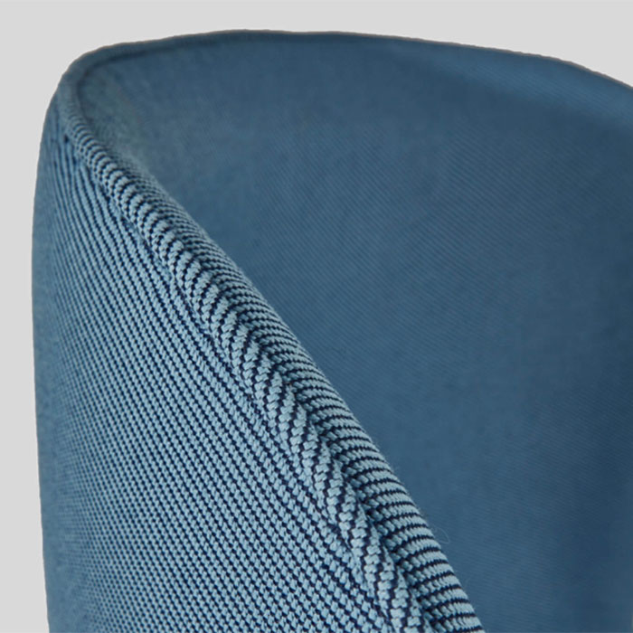 Oceanic range made of recycled plastic by Camira