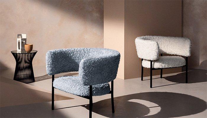 Volume range by Kirkby armchairs