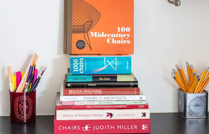 Reupholstery design books
