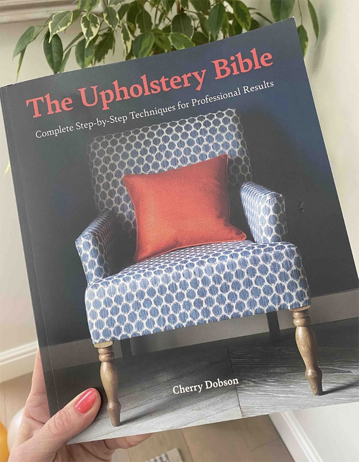 The Upholstery Bible - Front cover