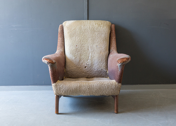 Armchair in need of reupholstering