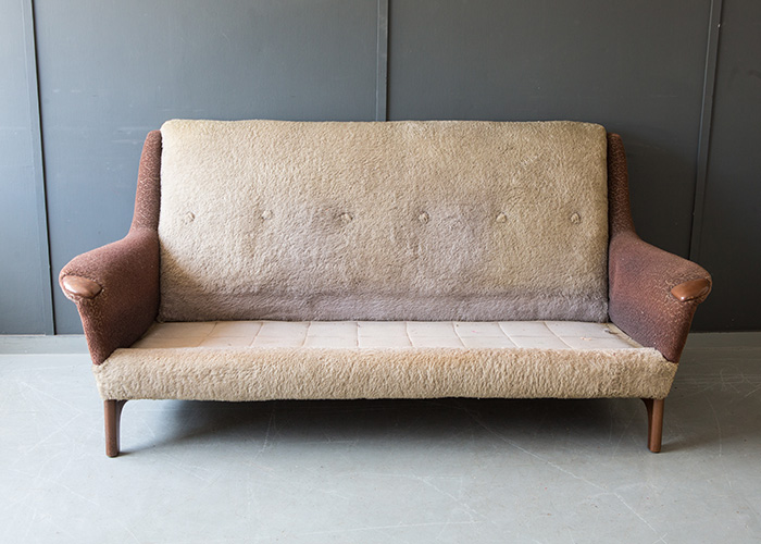 Chesterfield sofa in need of reupholstering