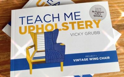 Teach Me Upholstery: Book review